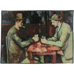 Настенный гобелен The card players, Cezanne («Игроки в карты, Сезанн»)