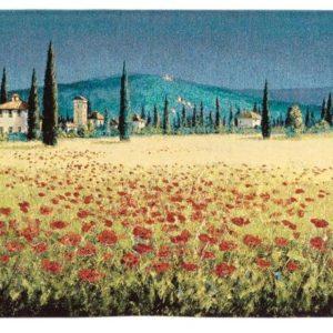 Настенный гобелен Panorama Poppies («Панорама маки»)
