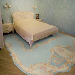 Ковер в спальню 11