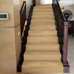 Ковровое покрытие на лестницу 2